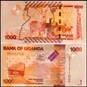 BANCONOTA UGANDA 1000 shillings 2010 FDS UNC
