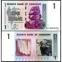 BANCONOTA ZIMBABWE 1 dollar 2006 FDS UNC