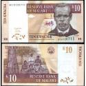 BANCONOTA MALAWI 10 kwacha 2004 FDS UNC