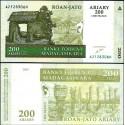 BANCONOTA MADAGASCAR 2004 ariary FDS UNC