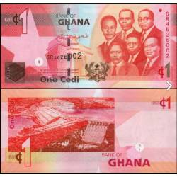 BANCONOTA GHANA 1 cedi 2015 FDS UNC
