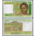 BANCONOTA MADAGASCAR 500 francs 1994 FDS UNC