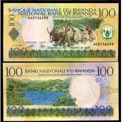 BANCONOTA RWANDA 100 francs 2003 FDS UNC
