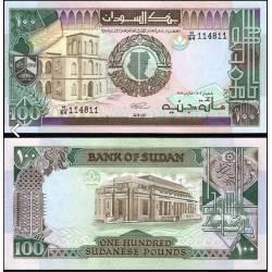 BANCONOTA SUDAN 100 pounds 1989 FDS UNC