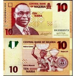 BANCONOTA NIGERIA 10 naira 2006 FDS UNC