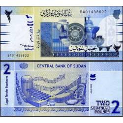 BANCONOTA SUDAN 2 pounds 2006 FDS UNC