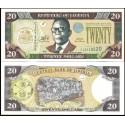 BANCONOTA LIBERIA 20 dollars 2011 FDS UNC