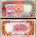 BANCONOTA SUDAN 5 pounds 1991 FDS UNC