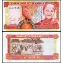 BANCONOTA GAMBIA 5 dalasis 2001 FDS UNC