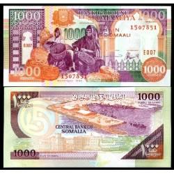 BANCONOTA SOMALIA 1000 shiling 1996 FDS UNC