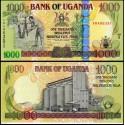 BANCONOTA UGANDA 1000 shillings 2009 FDS UNC