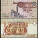 BANCONOTA EGYPT 1 pound 2011 FDS UNC