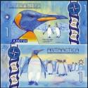 BANCONOTA ANTARCTICA 1 dollar 2016 FDS UNC