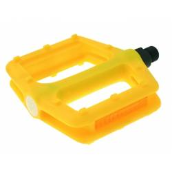 VP COMPONENTS COPPIA PEDALI FREERIDE / BMX NYLON GIALLO